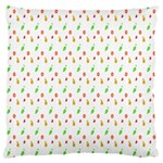 Fruit Pattern Vector Background Large Cushion Case (Two Sides) Front
