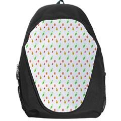Fruit Pattern Vector Background Backpack Bag