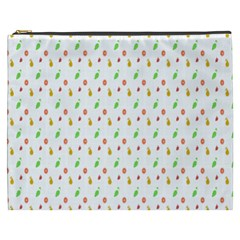 Fruit Pattern Vector Background Cosmetic Bag (XXXL)