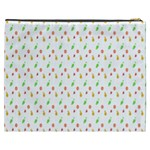 Fruit Pattern Vector Background Cosmetic Bag (XXXL)  Back