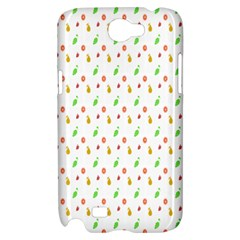 Fruit Pattern Vector Background Samsung Galaxy Note 2 Hardshell Case
