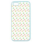 Fruit Pattern Vector Background Apple Seamless iPhone 5 Case (Color) Front
