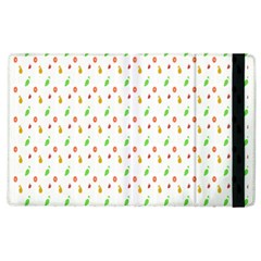 Fruit Pattern Vector Background Apple iPad 3/4 Flip Case