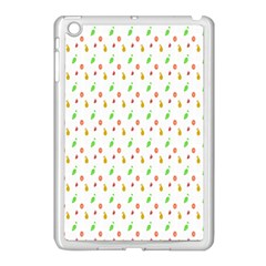 Fruit Pattern Vector Background Apple iPad Mini Case (White)