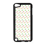 Fruit Pattern Vector Background Apple iPod Touch 5 Case (Black) Front