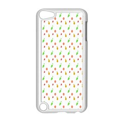 Fruit Pattern Vector Background Apple iPod Touch 5 Case (White)