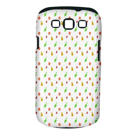Fruit Pattern Vector Background Samsung Galaxy S III Classic Hardshell Case (PC+Silicone)