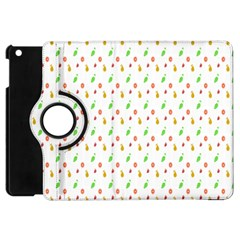 Fruit Pattern Vector Background Apple iPad Mini Flip 360 Case