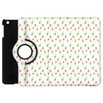 Fruit Pattern Vector Background Apple iPad Mini Flip 360 Case Front