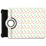 Fruit Pattern Vector Background Kindle Fire HD Flip 360 Case Front