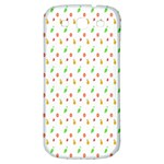Fruit Pattern Vector Background Samsung Galaxy S3 S III Classic Hardshell Back Case Front