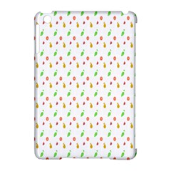 Fruit Pattern Vector Background Apple iPad Mini Hardshell Case (Compatible with Smart Cover)