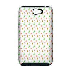 Fruit Pattern Vector Background Samsung Galaxy Note 2 Hardshell Case (PC+Silicone)