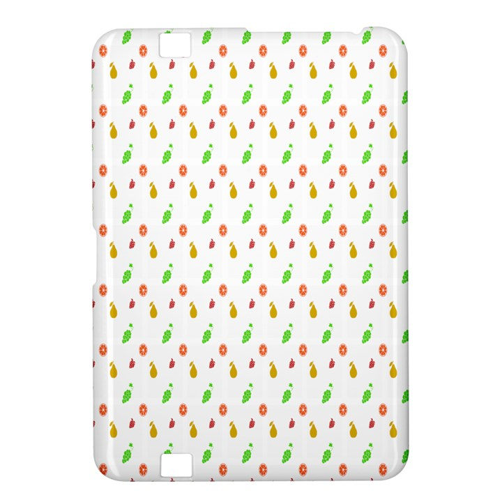 Fruit Pattern Vector Background Kindle Fire HD 8.9