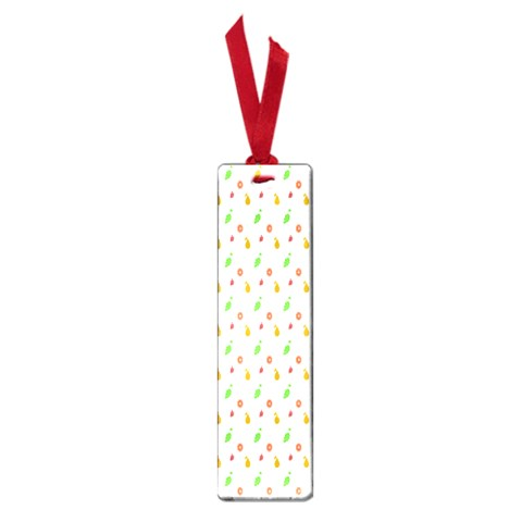 Fruit Pattern Vector Background Small Book Marks