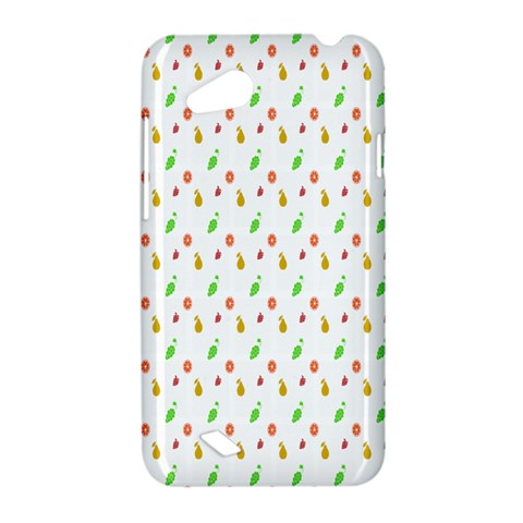 Fruit Pattern Vector Background HTC Desire VC (T328D) Hardshell Case