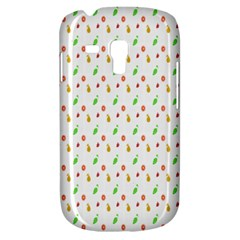 Fruit Pattern Vector Background Samsung Galaxy S3 MINI I8190 Hardshell Case