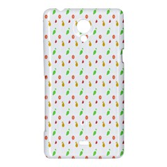Fruit Pattern Vector Background Sony Xperia T