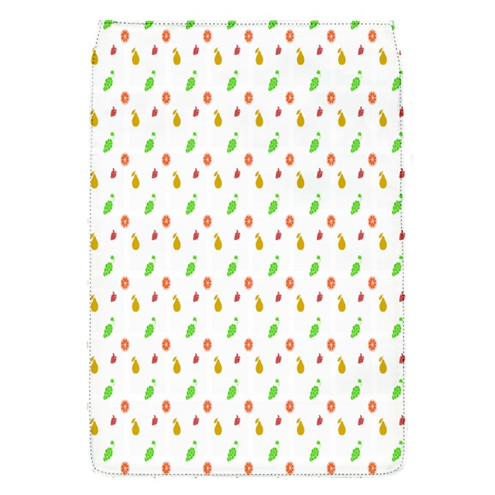 Fruit Pattern Vector Background Flap Covers (S)