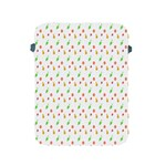 Fruit Pattern Vector Background Apple iPad 2/3/4 Protective Soft Cases Front