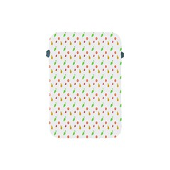 Fruit Pattern Vector Background Apple iPad Mini Protective Soft Cases