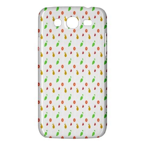 Fruit Pattern Vector Background Samsung Galaxy Mega 5.8 I9152 Hardshell Case