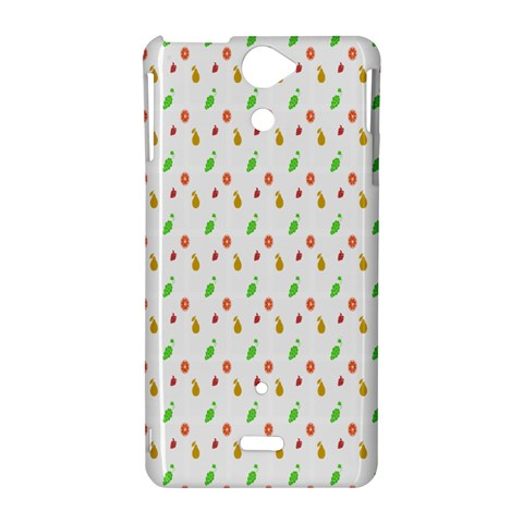 Fruit Pattern Vector Background Sony Xperia V