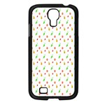 Fruit Pattern Vector Background Samsung Galaxy S4 I9500/ I9505 Case (Black) Front