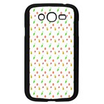 Fruit Pattern Vector Background Samsung Galaxy Grand DUOS I9082 Case (Black) Front