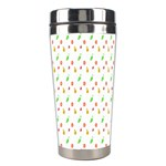 Fruit Pattern Vector Background Stainless Steel Travel Tumblers Center