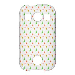 Fruit Pattern Vector Background Samsung Galaxy S7710 Xcover 2 Hardshell Case