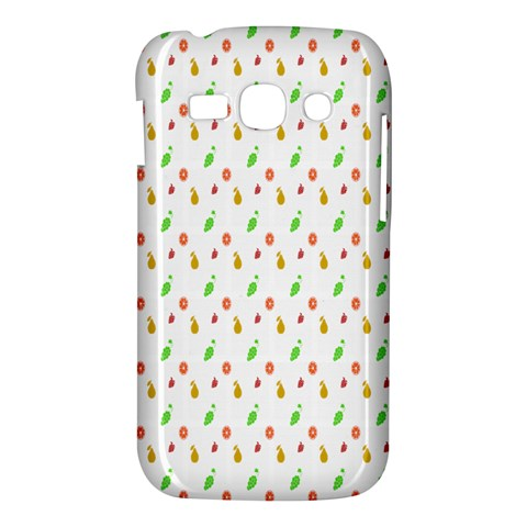 Fruit Pattern Vector Background Samsung Galaxy Ace 3 S7272 Hardshell Case