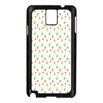 Fruit Pattern Vector Background Samsung Galaxy Note 3 N9005 Case (Black) Front