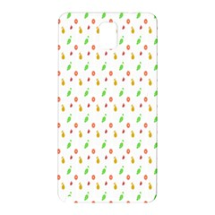 Fruit Pattern Vector Background Samsung Galaxy Note 3 N9005 Hardshell Back Case