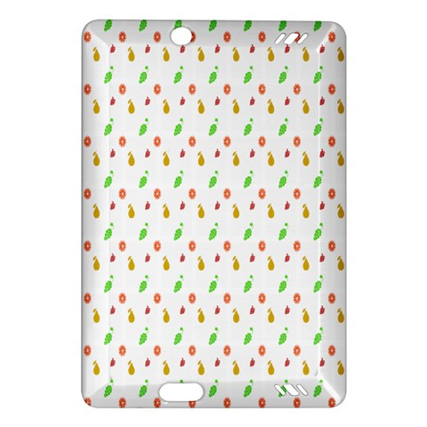 Fruit Pattern Vector Background Amazon Kindle Fire HD (2013) Hardshell Case