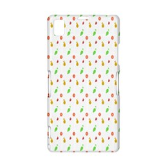 Fruit Pattern Vector Background Sony Xperia Z1