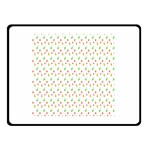 Fruit Pattern Vector Background Double Sided Fleece Blanket (Small)  50 x40 Blanket Front