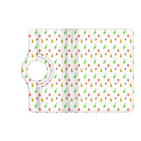 Fruit Pattern Vector Background Kindle Fire HD (2013) Flip 360 Case