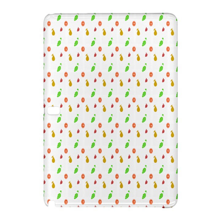 Fruit Pattern Vector Background Samsung Galaxy Tab Pro 10.1 Hardshell Case