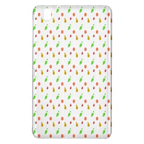 Fruit Pattern Vector Background Samsung Galaxy Tab Pro 8.4 Hardshell Case