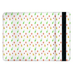 Fruit Pattern Vector Background Samsung Galaxy Tab Pro 12.2  Flip Case