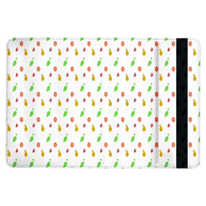 Fruit Pattern Vector Background iPad Air Flip