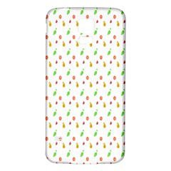 Fruit Pattern Vector Background Samsung Galaxy S5 Back Case (White)