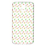 Fruit Pattern Vector Background Samsung Galaxy S5 Back Case (White) Front
