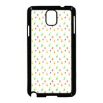 Fruit Pattern Vector Background Samsung Galaxy Note 3 Neo Hardshell Case (Black) Front