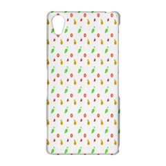 Fruit Pattern Vector Background Sony Xperia Z2