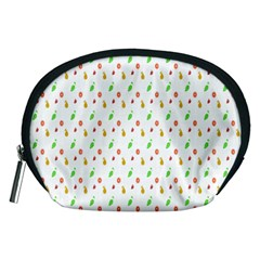 Fruit Pattern Vector Background Accessory Pouches (Medium)