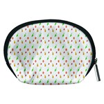 Fruit Pattern Vector Background Accessory Pouches (Medium)  Back