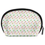 Fruit Pattern Vector Background Accessory Pouches (Large)  Back
