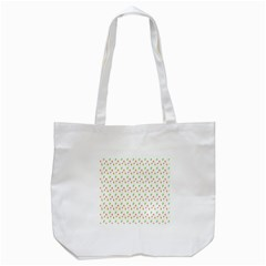 Fruit Pattern Vector Background Tote Bag (White)